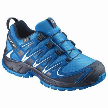 Salomon XA PRO 3D CSWP J Gyerek Trail Futócipő - Kék Sötétkék 1cb7a30400
